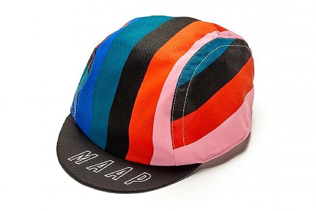 MAAP Cycling Caps Fat Stripe Worlds Cap - Black
