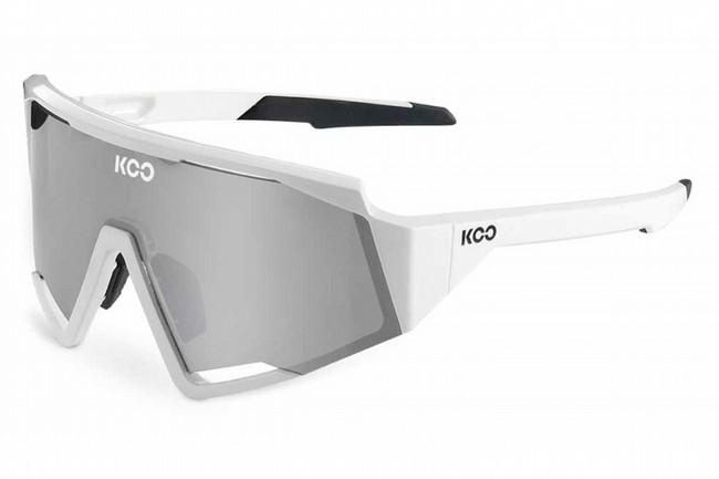KOO Spectro Sunglasses  White Silver/Super Silver Lenses